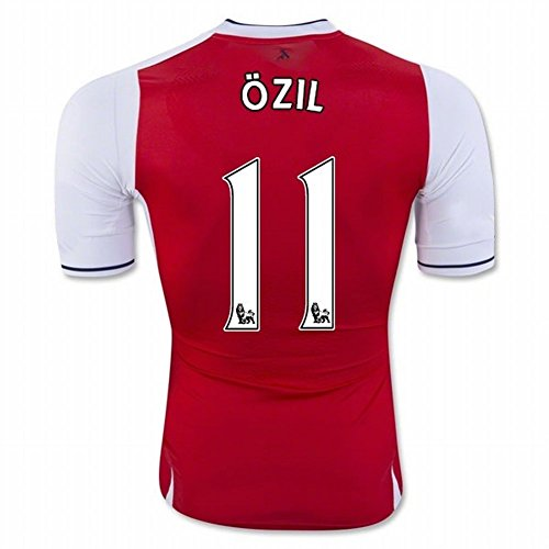 2016 2017 Arsenal 11/Mesut Özil Home Football Fußball Trikot in rot für neue Saison Medium rot