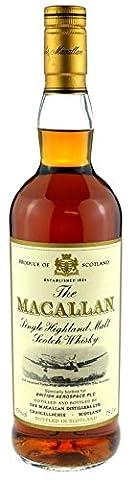 Rarity: Macallan Whisky British Aerospace PLC 0.7l - 12 years Sherry Wood - The Macallan Single Highland Malt Scotch