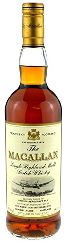 Macallan Whisky British Aerospace - Single Highland Malt Scotch Whisky