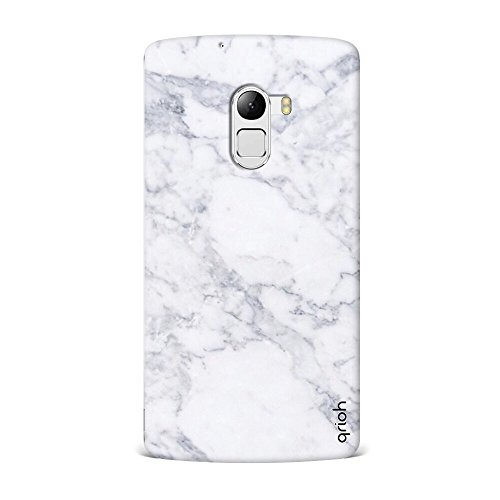 Qrioh Printed Designer Back Case Cover for Lenovo K4 Note - Marble