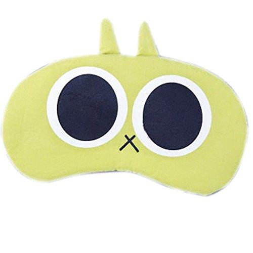 Schlafmaske Schlafenaugen-Abdeckung Super-Smooth Augenmaske für Reise, Blau