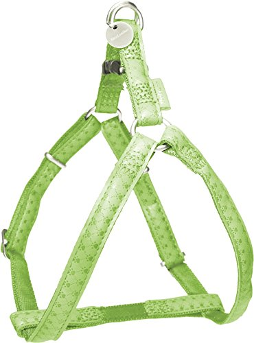 ZOLUX Mac Leather arnés Ajustable Perro Verde 10mm