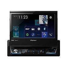 """Pioneer AVH-Z7200DAB Ricevitore multimediale per auto Nero Bluetooth """"fuori produzione"""""""