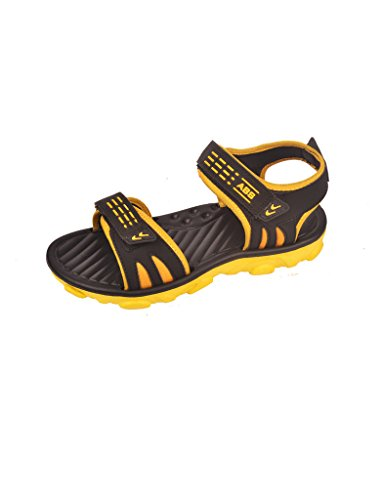 Men's Two color Waterproof Sandals-Yellow  available at amazon for Rs.329