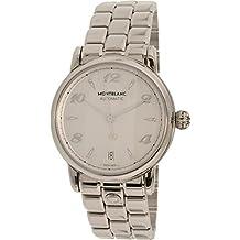 Montblanc Star Lady Automatic / orologio donna / quadrante madreperla bianca / cassa e bracciale acciaio