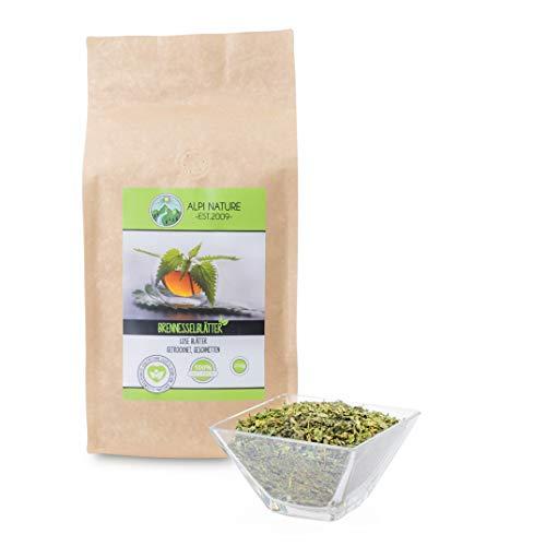 Té de ortiga, hojas de ortiga, 100% natural, té de hierbas suelto, cortado