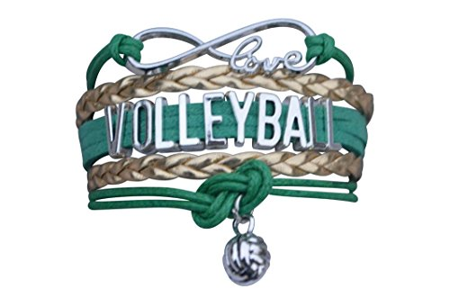 VOLLEYBALL Armband Mädchen Volleyball Jewelry-Ideal Volleyball Geschenke für Spieler
