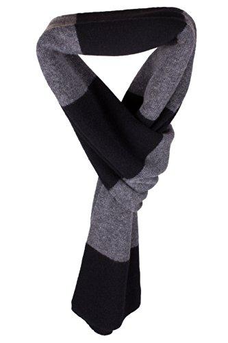 echarpe-rayee-en-cachemire-pour-homme-noir-gris-fonce-fait-main-a-ecosse-par-love-cashmere
