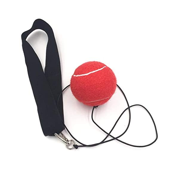 Eubi E302 Elasticity Head Band Wearing Boxing Ball Training Quick Punching (Rojo) 1