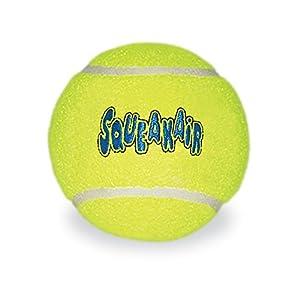 KONG Airdog Air Squeaker Tennis Balle Jouets pour Chiens XL Bulk