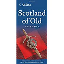 Collins Scotland of Old Map: Clans Map