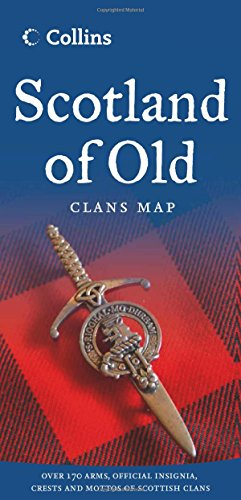Clans. Map Of Scotland (Collins Pictorial Maps)