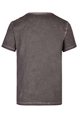 Schlusen Trachtenmode Herren T-Shirt Jiri (L, Anthrazit) - 3