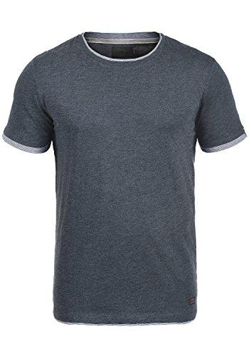 PRODUKT Paolo T-Shirt Kurzarm Rundhals , Größe:M;Farbe:Navy Blazer