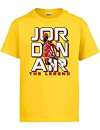 Camiseta Aerolíneas Jordan bienvenidos al Vuelo número 23 Andrés Montes