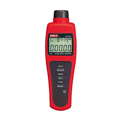 Lorsoul Uni-T UT372 Non-Contact Automobiltaxameter Zieldrehzahlbereich 10~99999 Prüfstrecke USB-Schnittstelle Drehzahlsensor
