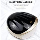 Jackeylove Essiccatore Portatile per Unghie 48W, LED per Unghie UV 10s 30s 60s 120s Timer Macchina Professionale per Manicure/Pedicure