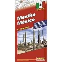 Hallwag Straßenkarten, Mexiko: With Touring Information (Road Map)