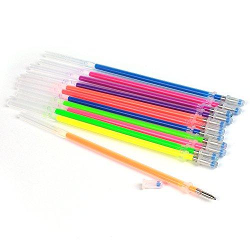 Hosaire Stift 48 Farben 0,1 mm Kreativ Textmarker Eingabestift Refill Bleistiftmine Gelstifte