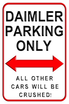 daimler-parking-only-aluminium-wall-sign-20-x-30-cms-exclusively-manufactured-by-designasign-here-in