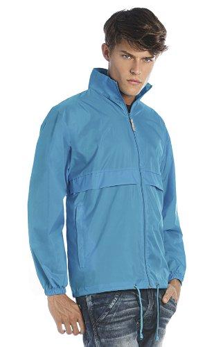 B und C Sirocco Herren Outerwear Lightweight Jacket Violett - Violett