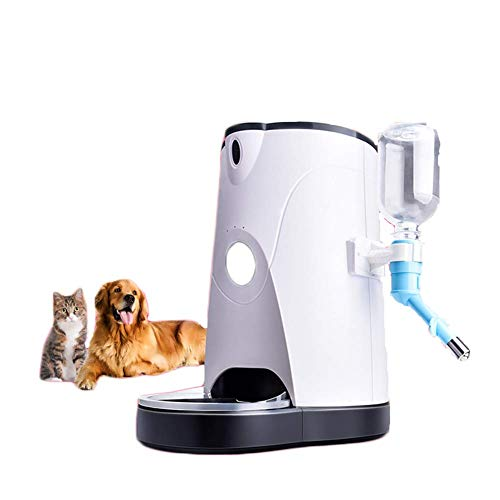 AGN Alimentador automático de Mascotas, operación de Video Remoto Que sincroniza la máquina de alimentación de Perros cuantitativa