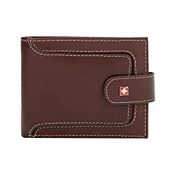 Swiss Military Brown Mens Wallet (LW40)