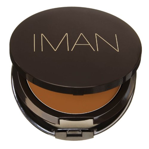 Iman Cream To Powder Foundation Clay #4 (Powder Cream Iman Foundation)