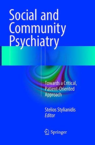 social and community psychology: towards a critical, patient-oriented approach
