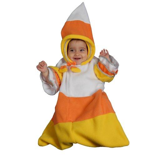 Dress up Amerika-Motiv Candy Corn für Kostüm-Set (0-12 Monate) -