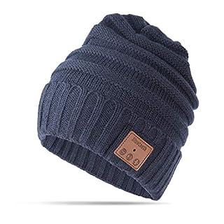 AIKER Bluetooth Hat Wireless Smart Music Headphone Beanie Hat for Winter Sports