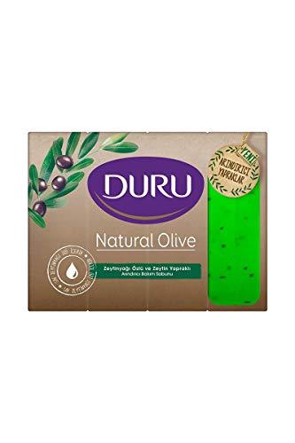 Duru Natural Olive Savon De Marseille Olivenöl Seife Festseife 720gr 4x180gr
