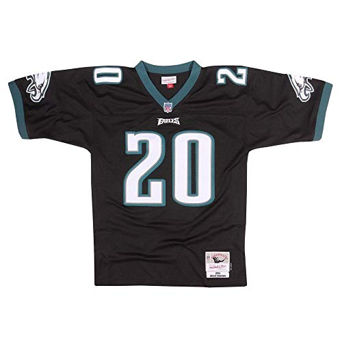 Mitchell & Ness Brian Dawkins Philadelphia Eagles Throwback NFL Trikot Schwarz XL - Throwback Ness Mitchell