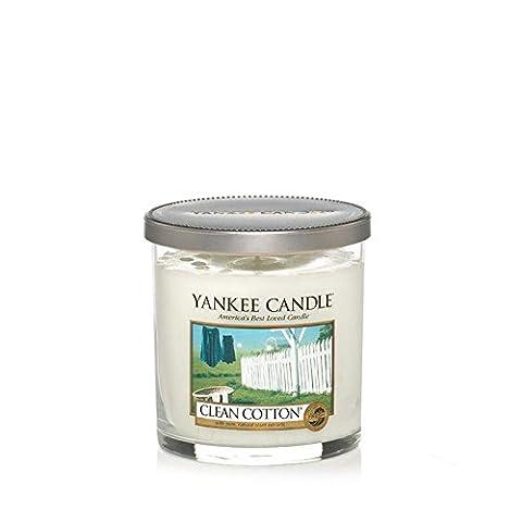 Yankee Candles Kleine Stumpenkerze - Clean Cotton