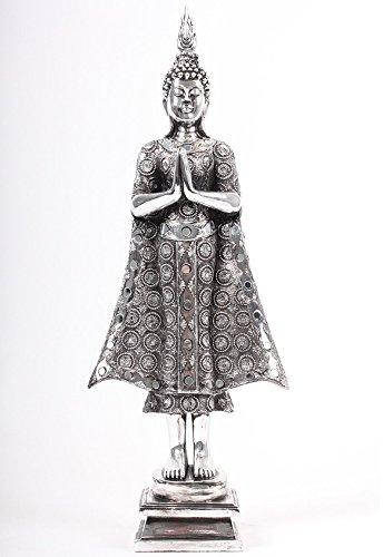 BUDDHA stehend Deko Figur Asien Statue Skulptur 46cm-90cm