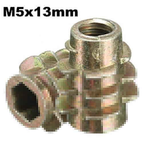 ChaRLes 5Pcs tornillo de la impulsión del maleficio M5x13mm en el parte...