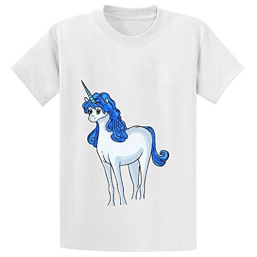 pour-apprendre-a-dessiner-un-cartoon-unicorn-teen-coton-col-ras-du-cou-pour-homme-blanc-xs-110-cm