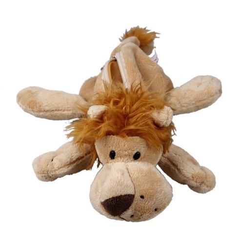 Y-BOA – Trousse à Crayons/Ecole/Maquillage –Animal Mignon- Enfant/Adult–Pochette Peluche- Cosmetique/Fourniture Scolaire (#14 Brun Clair Lion)