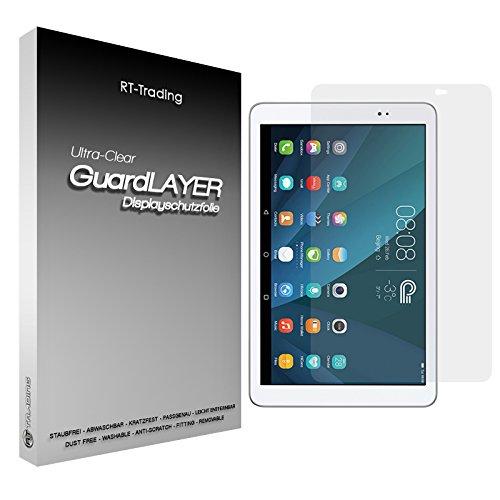 1x Huawei MediaPad T1 10.0 - Bildschirm Schutzfolie Klar Folie Schutz Bildschirm Screen Protector Bildschirmfolie - RT-Trading