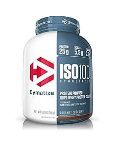 Dymatize - Iso 100 Hydrolyzed 100% Protéine Whey Isolate - 2268 Gr Chocolat