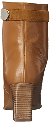 Nine West Einschüchtern Lederstiefel Dark Natural/Dark Natural