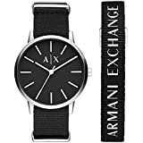 Armani Exchange Men's Three-Hand Stainless Steel Watch AX7111