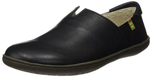 El Naturalista N275 Soft Grain El Viajero, Sneakers Basses Mixte Adulte Noir (Black)