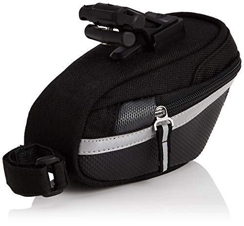 Topeak Satteltasche Wedge Pack II, Black, Medium (16.5 x 12.3 x 10.5 cm, 0.95-1.25 L)
