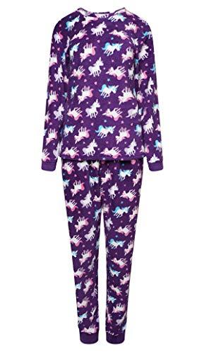 3a501722cf27e5 Selena Girl - Pijama - para niña Unicorns 11-12 Años
