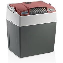Mobicool 9103501271 G30 DC Premium Nevera Termoeléctrica Portátil, 29 l, con USB, 12 V, Color Marsala/Gris