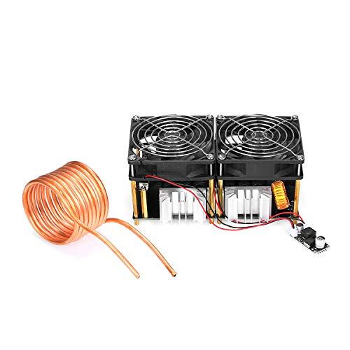 Leepesx 1800W ZVS DIY Placa calentamiento inducción