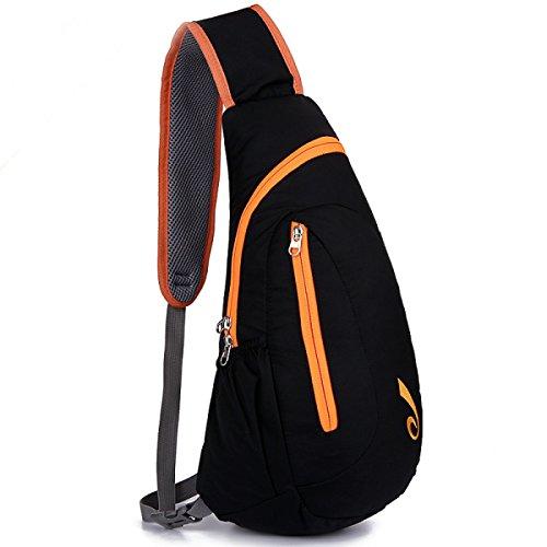 BULAGE Paket Paket Brust-Pakete Freizeit Mode Männer Und Frauen Leicht Ultra-dünn Wasserdicht Nylon Outdoor Sport Langlebig Orange