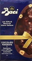 Idea Regalo - Baci Perugina Uovo di Cioccolato Fondente con 30% di Nocciole Intere Italiane - 370 g
