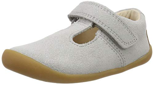 Clarks Roamer Go, Bailarinas Bebés, Gris Light Grey
